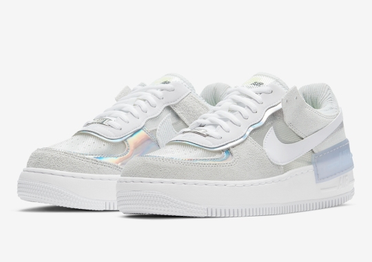 Nike Adds Transparent Panels To The Air Force 1 Shadow