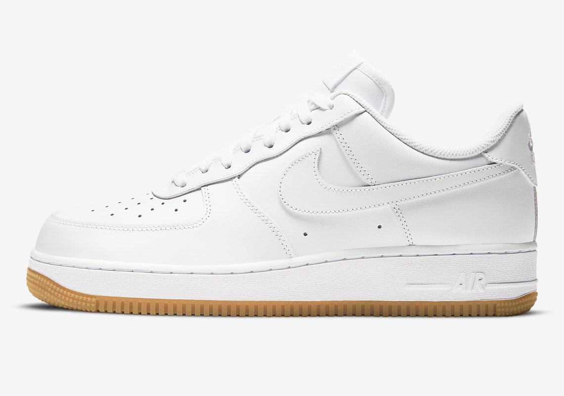 Nike Air Force 1 Low White Gum DJ2739-100 | SneakerNews.com