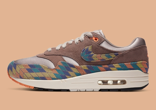Nike Air Max 1 N7 Honors Standing Rock Sioux Tribe With Native Inspired Patterns