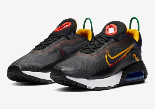 A New Nike Air Max 2090 Features The Olympic Colors
