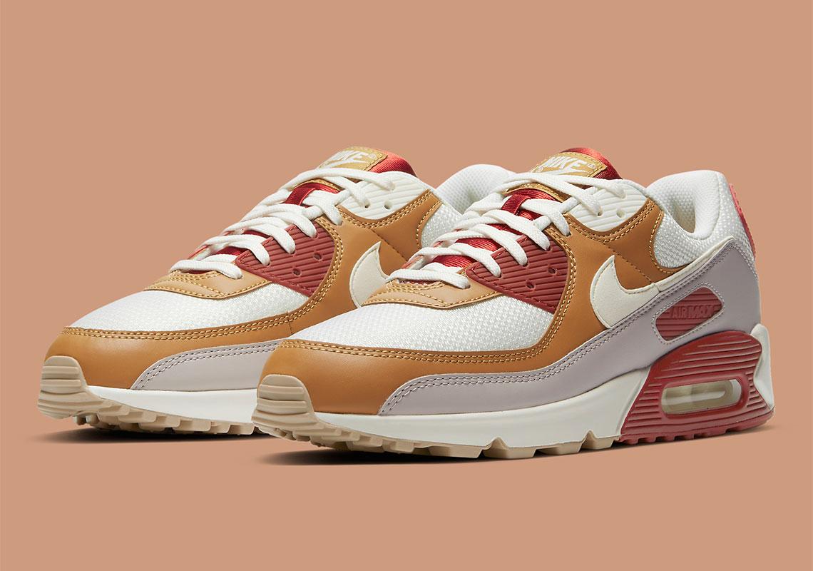Nike Air Max 90 Rugged Orange Wheat CV8839-800 | SneakerNews.com