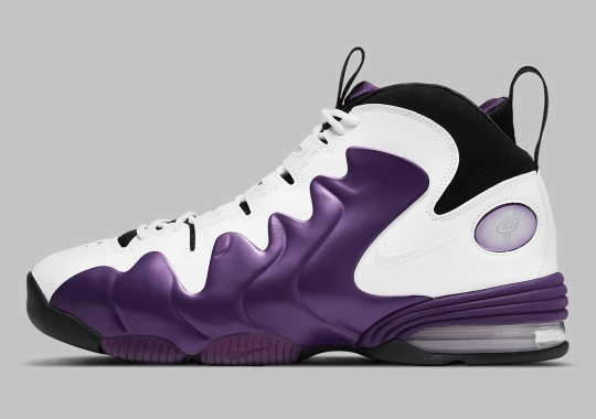 "Official Images Of The Nike Air Penny 3 ""Eggplant"""