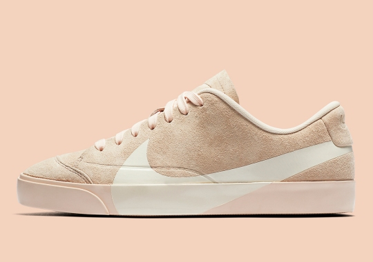 "The Nike Blazer City Low Is Finally Releasing In ""Guava Ice"""
