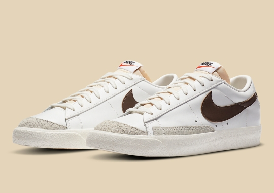 Nike Blazer Low '77 Vintage Gets Fall-Ready With Brown Swoosh