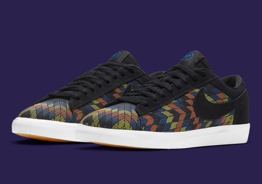 Nike Celebrates Native Artwork With The Blazer Low N7