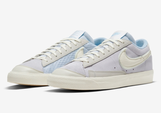 Mix-And-Match Panels On Upcoming Nike Blazers Give Off CPFM Vibes
