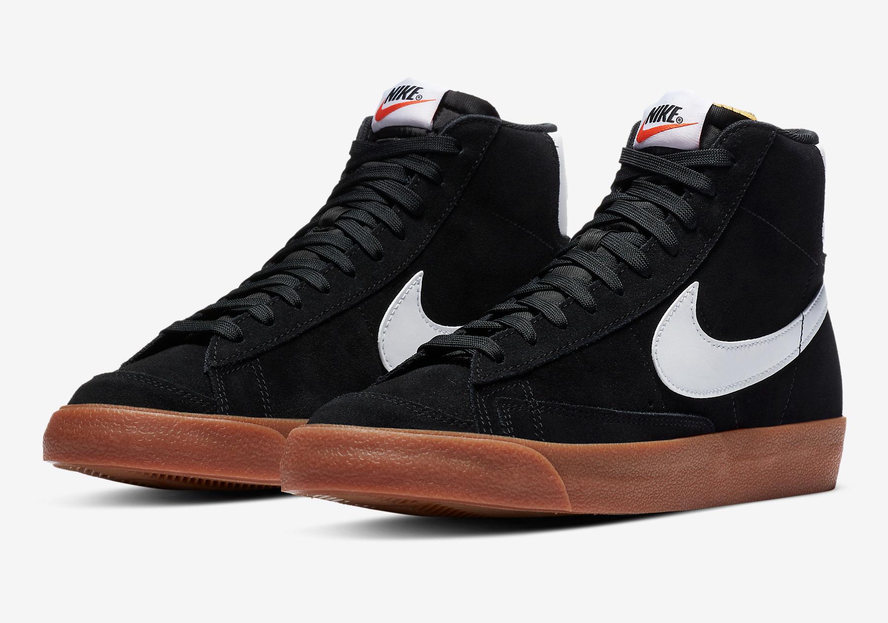 Nike Blazer Mid 77 Noir Gum CI1172-003 - Crumpe