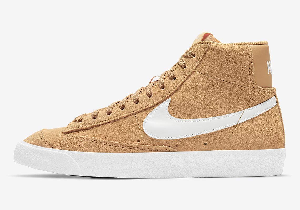 Nike Blazer Mid Suede Wheat DB5461-701 Release | SneakerNews.com