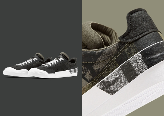 The Latest Nike Drop Type LX Features Spray-On Graphics At The Heel