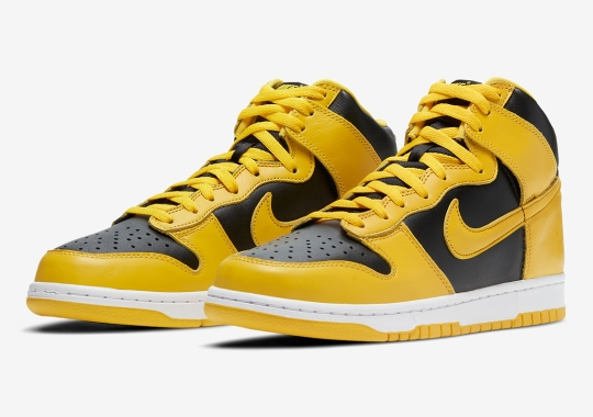 "The Nike Dunk High SP ""Varsity Maize"" Releases On December 9th"