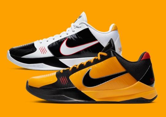 "Nike Kobe 5 Protro ""Bruce Lee"" And Alternate Officially Releasing On November 24th"