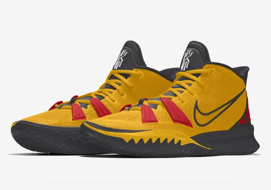 The Nike Kyrie 7 By You Offers Select Alternate Color-blocking