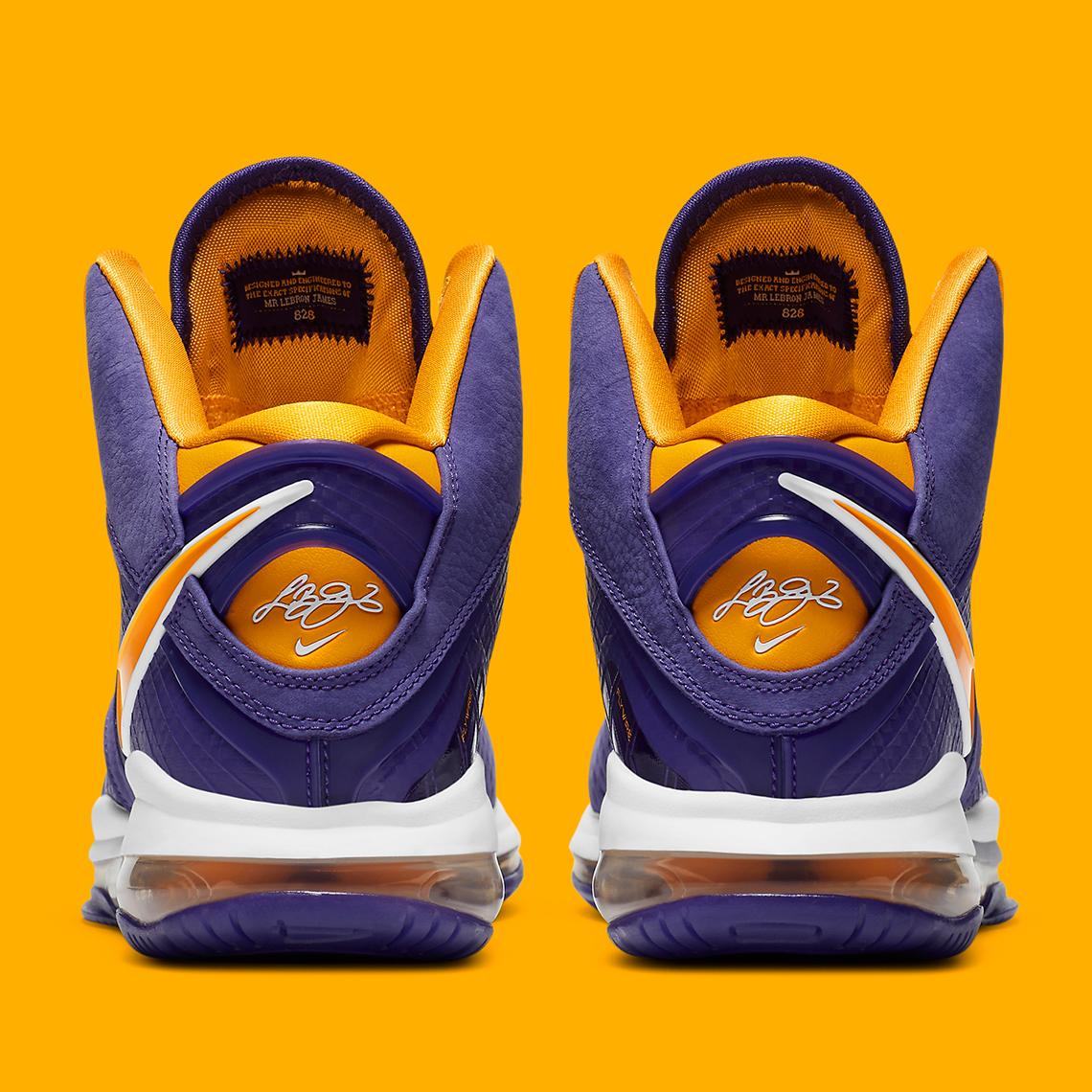Nike LeBron 8 Lakers DC8380-500 Release