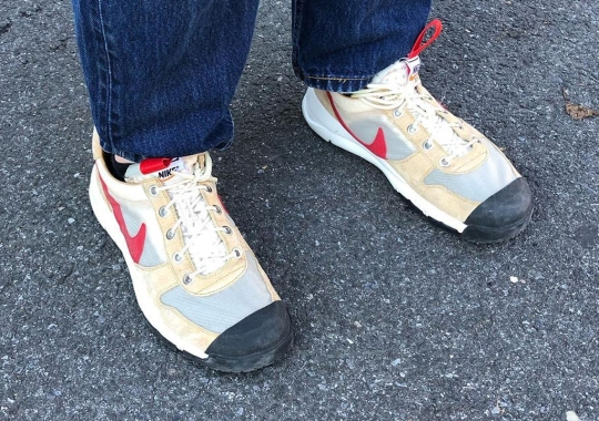 First Look At The Tom Sachs x Nike Mars Yard 2.5