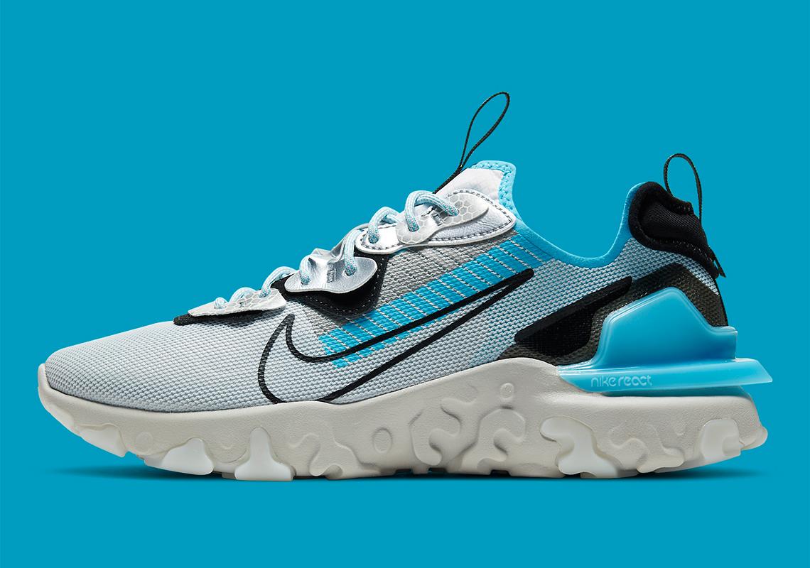 Nike React Vision 3M Platinum Blue CU1463-003 | SneakerNews.com