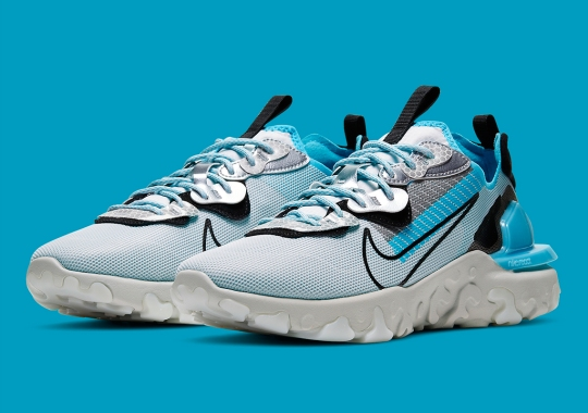 "Nike And 3M Usher In A React Vision In ""Baltic Blue"""