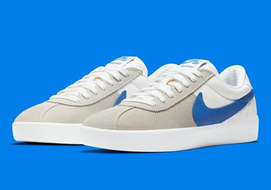 Nike SB Bruin React Gets Swooshed In Blue