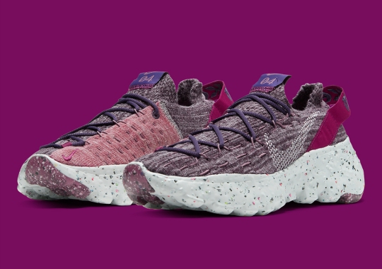 The Nike Space Hippie 04 Cactus Flower Features Sprouts of Purple