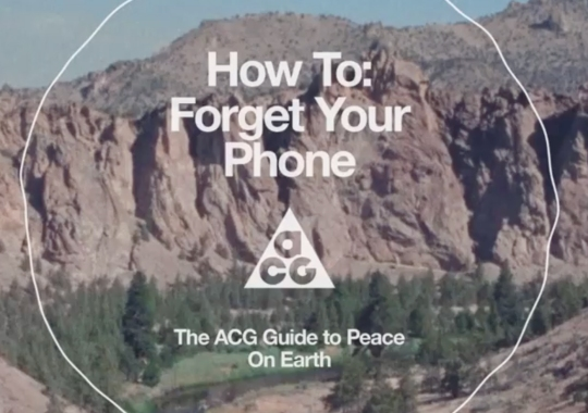 Nike Sportswear Presents The ACG Guide To Peace On Earth