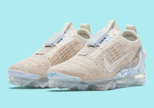 """Nike Vapormax 2020 Flyknit Receives """"Oatmeal"""" Colorway On November 5th"""
