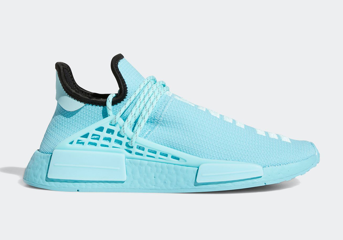 Pharrell adidas NMD Hu Aqua GY0094
