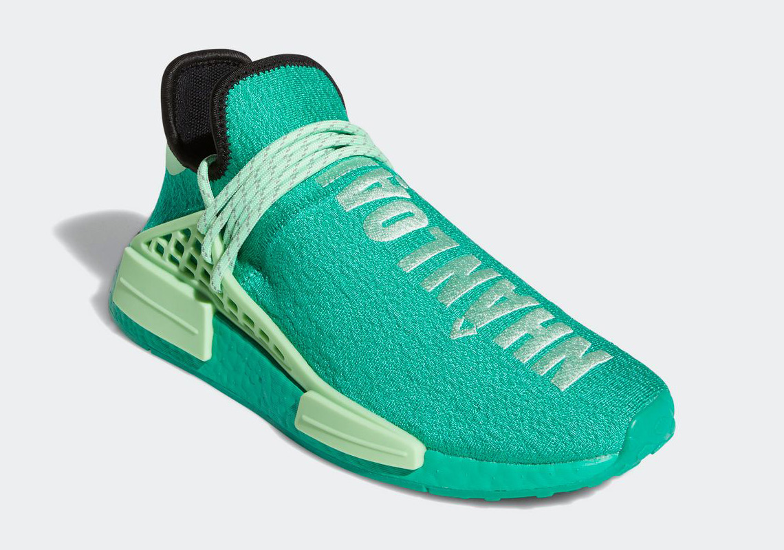 Pharrell adidas NMD Hu Green GY0089