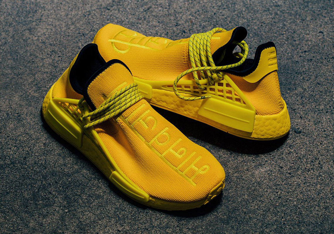 Pharrell adidas NMD Hu Yellow GY0091