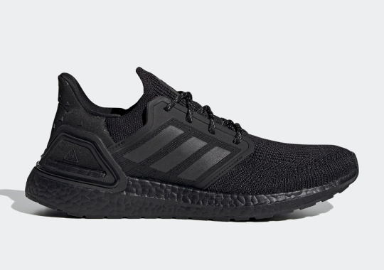 A Triple-Black Pharrell x adidas Ultra Boost 2020 Arrives December 12th