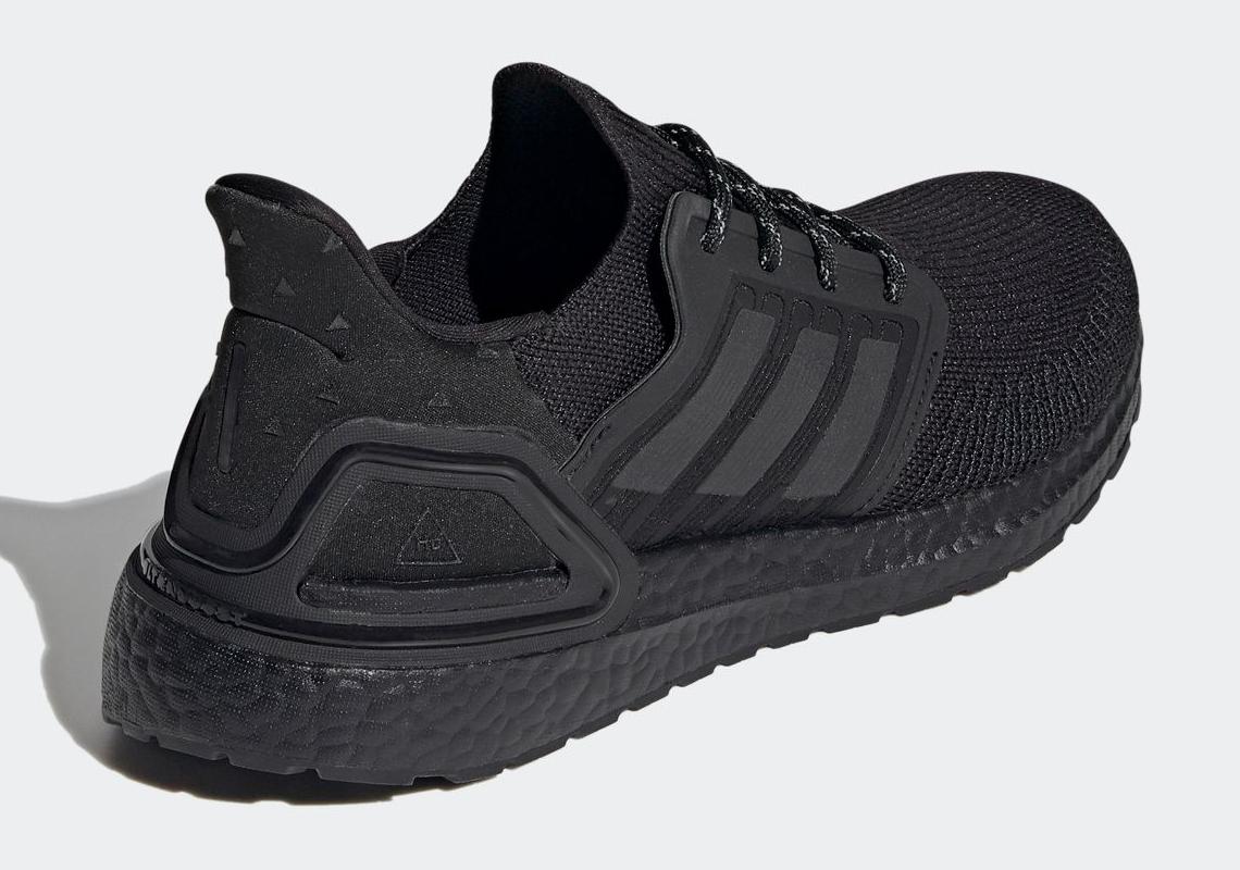 Pharrell adidas Ultra Boost 2020 Core Black H01892 | SneakerNews.com