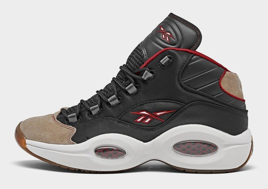 Brown Suede Toes Appear On Upcoming Reebok Question Mid