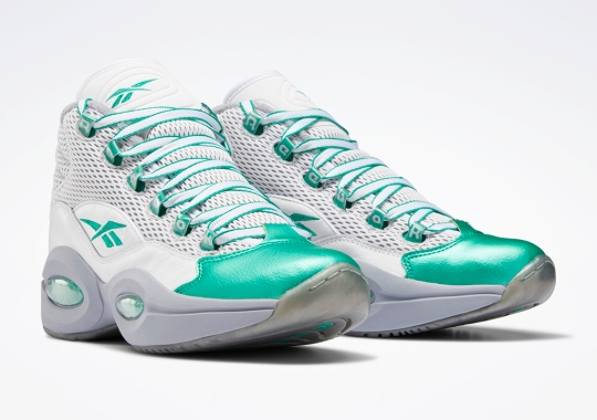 "Reebok Expands The Question Mid ""Gridiron"" Pack With An Honorary Eagles Colorway"