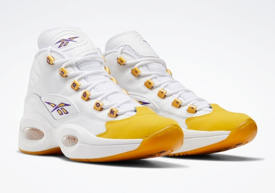 "The Reebok Question Mid ""Yellow Toe,"" A Kobe Bryant PE From 2003, Arrives Soon"
