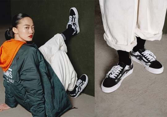 Vans Celebrates 10 Years Of A BATHING APE China With Region Exclusive Customs