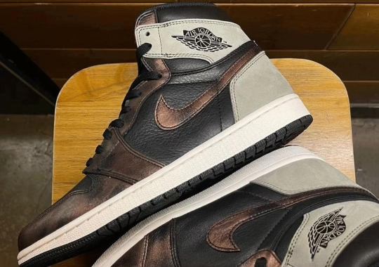 """The Air Jordan 1 Retro High OG """"Light Army"""" Features A Brushed-Bronzed Look"""