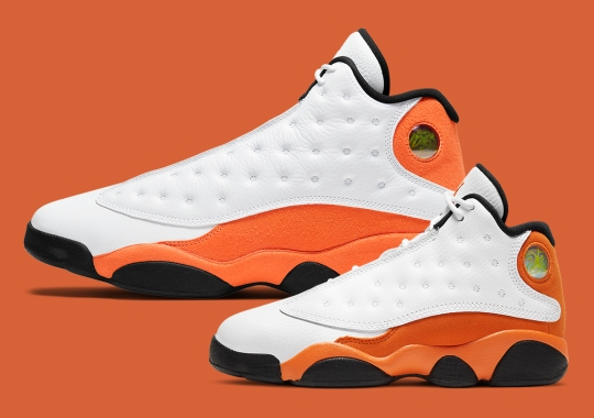"The Air Jordan 13 ""Starfish"" Is Releasing In Full Family Sizes"