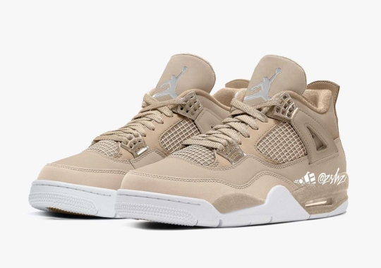 "Air Jordan 4 WMNS ""Shimmer"" Headed For A September 2021 Release"