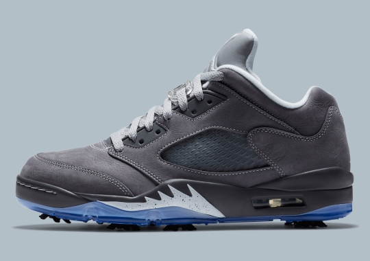 "The Air Jordan 5 Low Golf Arrives In ""Wolf Grey"" On December 18th"