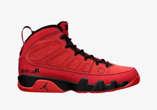 """Air Jordan 9 """"Chile Red"""" Arriving Fall 2021"""