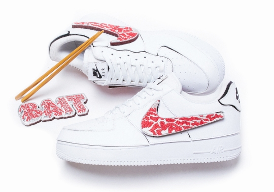 BAIT And Nike Japan Cook Up An A5 Wagyu Inspired Air Force 1
