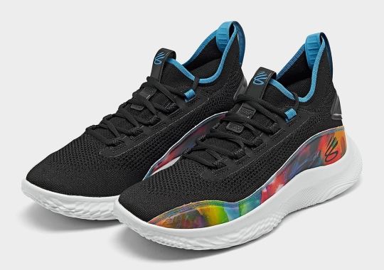 """The Curry Flow 8 Launches This Week In """"Multicolor"""""""