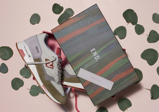 """END. And New Balance Head To Southeast Asia For The 1500 """"Rainbow Eucalyptus"""""""
