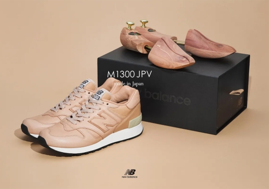 New Balance Celebrates 35 Years Of The 1300 With Japan-Made Construction