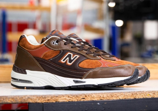 """New Balance Revisits The """"Gentleman's Pack"""" With The 991 And 1500"""