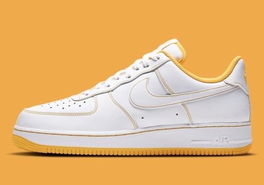 """""""Laser Orange"""" Contrasts This Upcoming Nike Air Force 1 Low"""