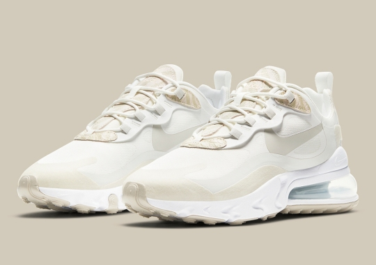 This Nike Air Max 270 React Features The Subtlest Of Animal Prints
