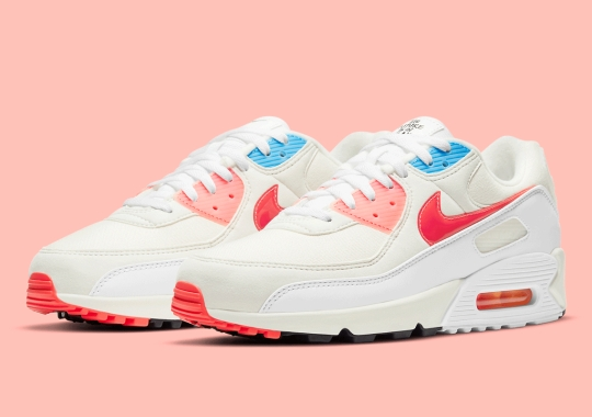 """Nike Applies """"The Future Is In The Air"""" Colorway Palette To The Air Max 90"""