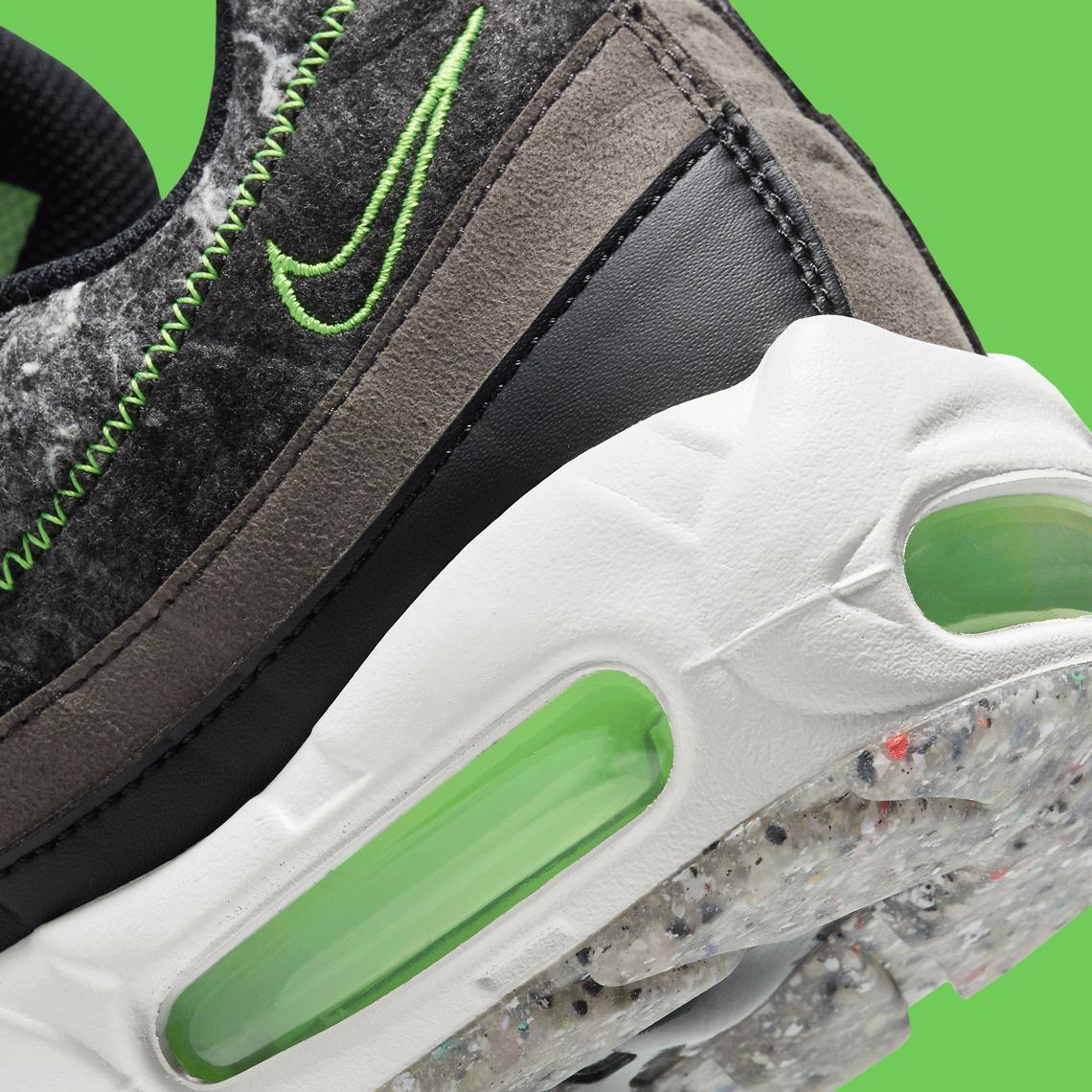 Nike Air Max 95 Electric Green Recycled CV6899-001   SneakerNews.com