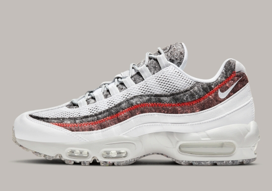 A Third Nike Air Max 95 Crater With Recycled Wool Has Appeared