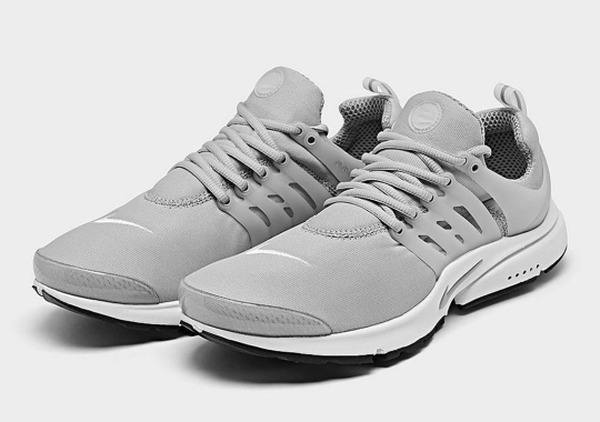 """The Classic Nike Air Presto Just Released In """"Light Smoke Grey"""""""