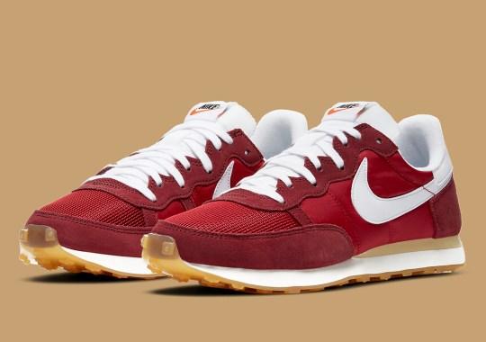 """More Vintage Nike Running Delivered With Latest Challenger OG """"Gym Red"""""""